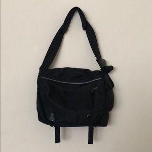 L.L. Bean black messenger bag